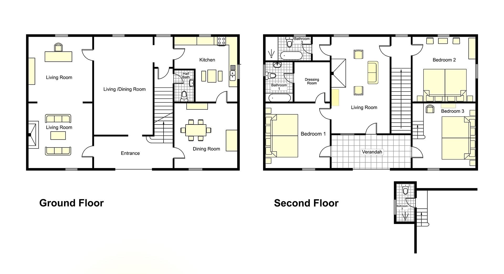Aquila Villa Floorplan