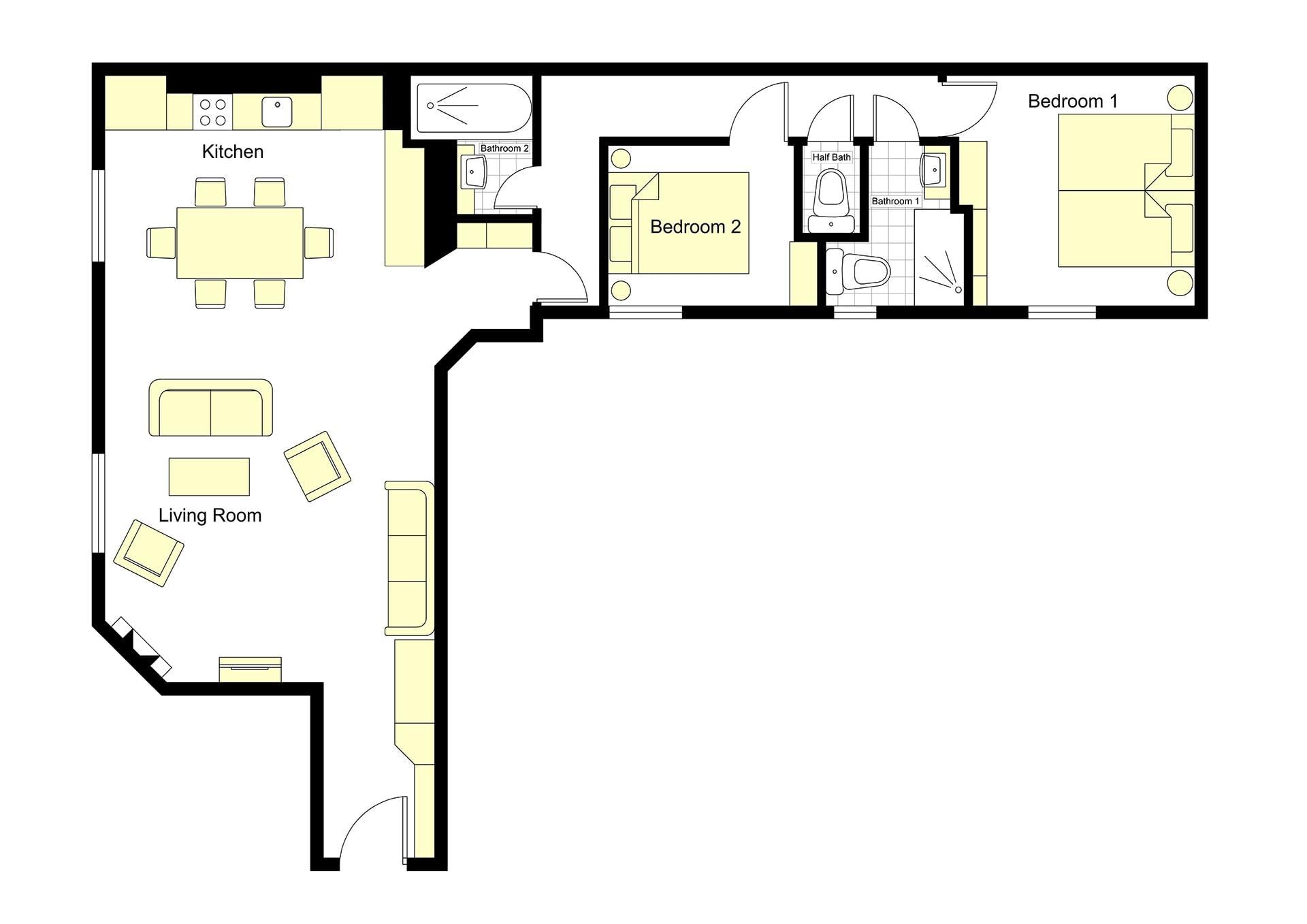 Romanée Floorplan