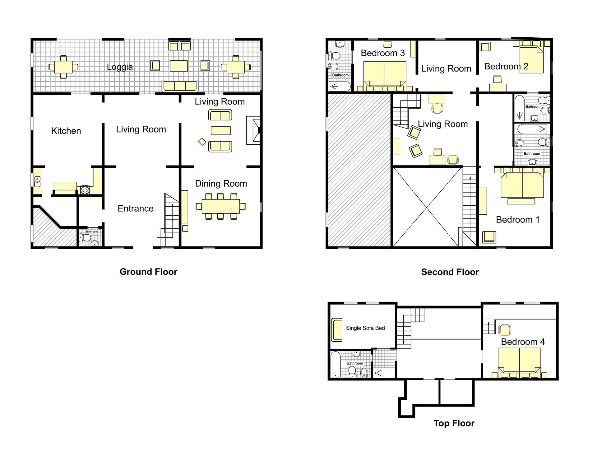 Tucano Villa Floorplan
