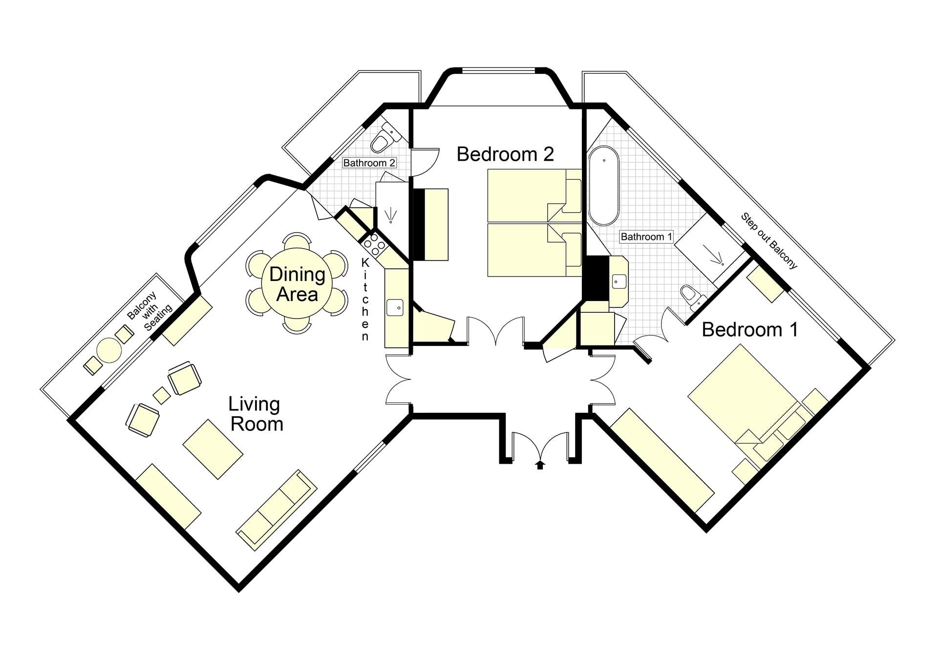Aloxe Floorplan