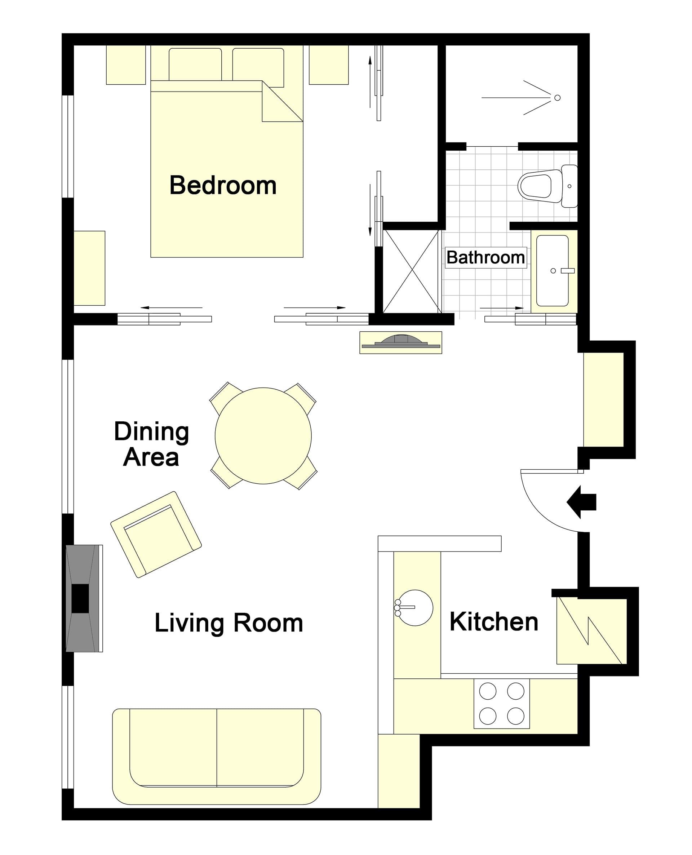 Blaye Floorplan