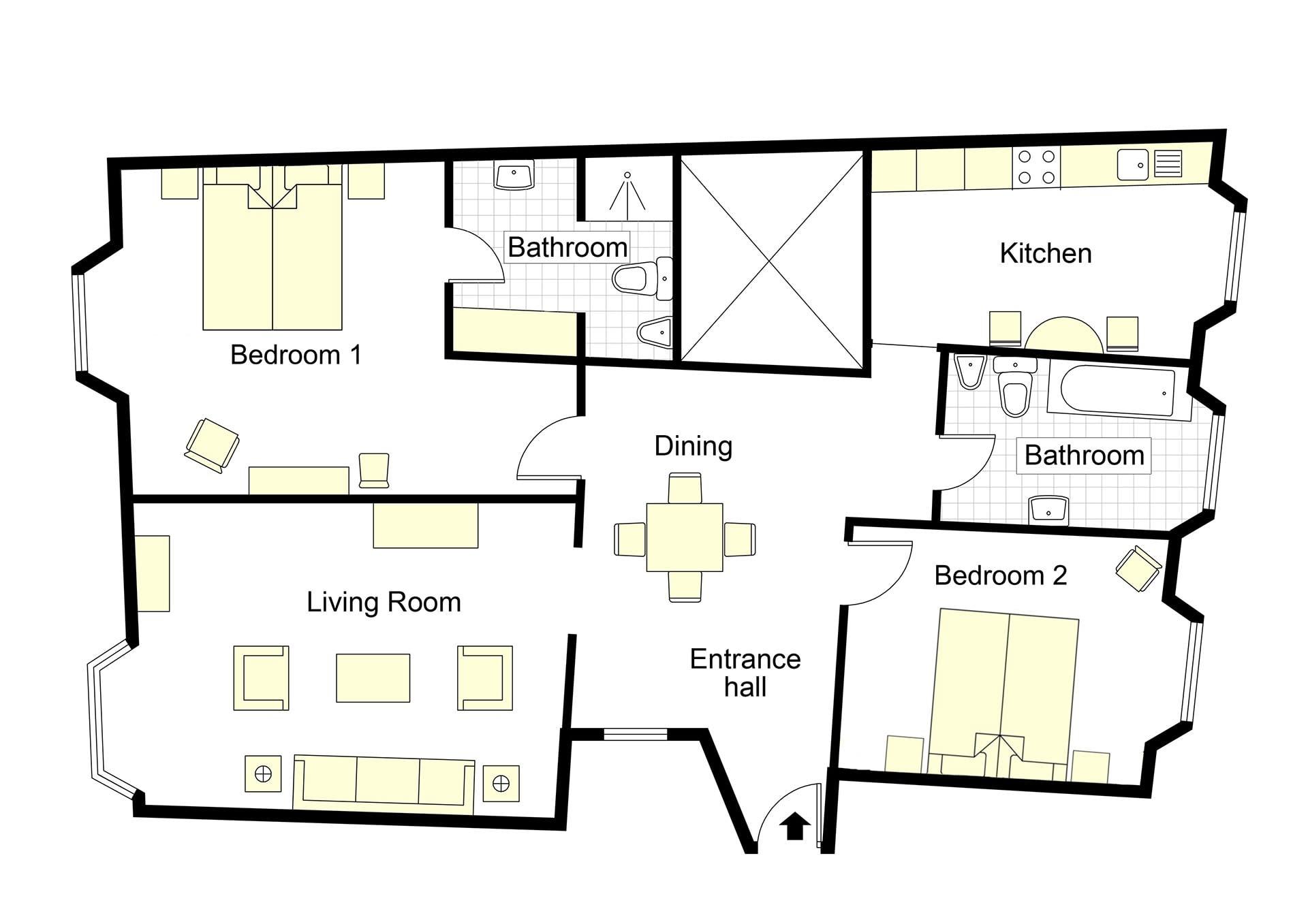 Caravella Floorplan