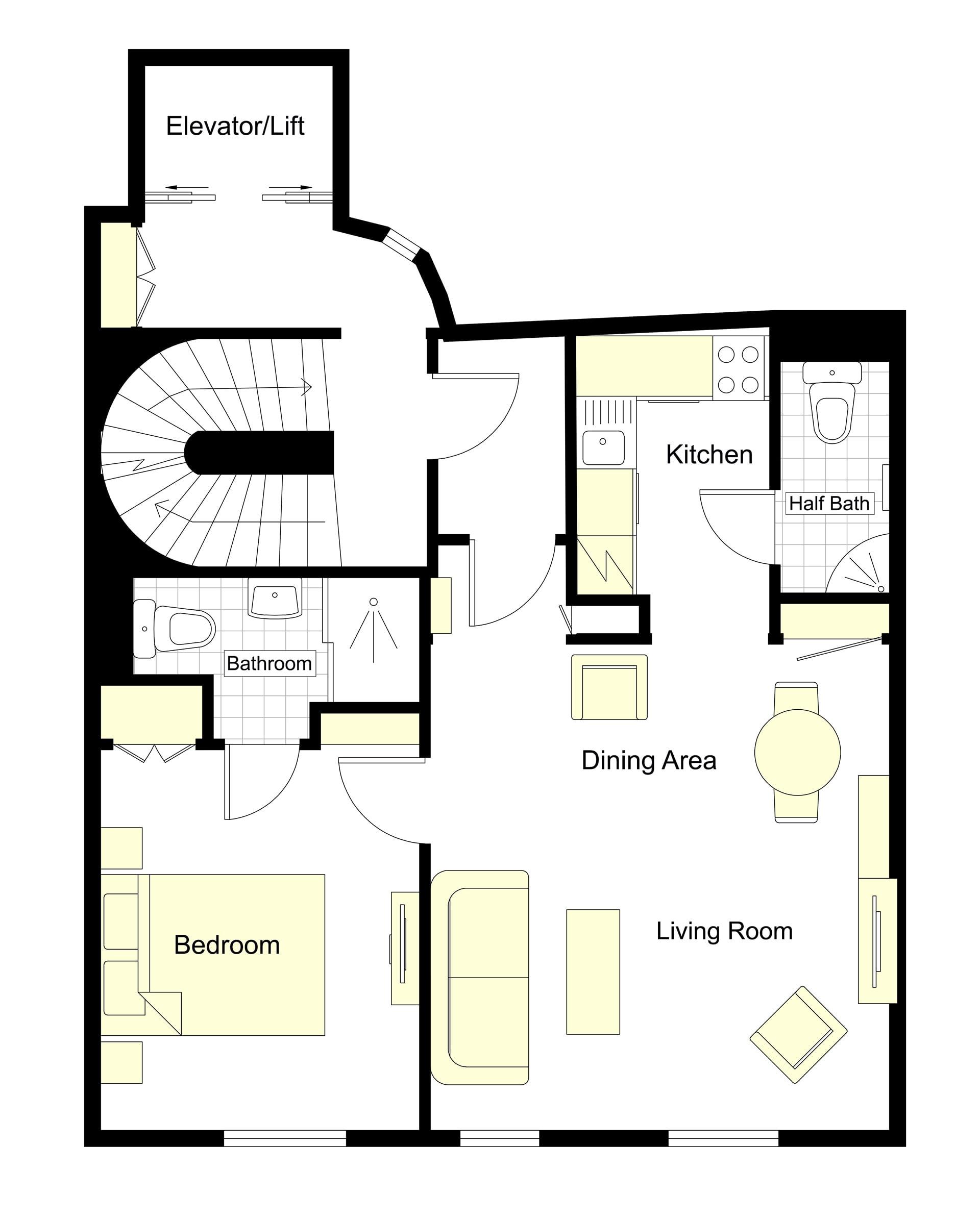 Castillon Floorplan