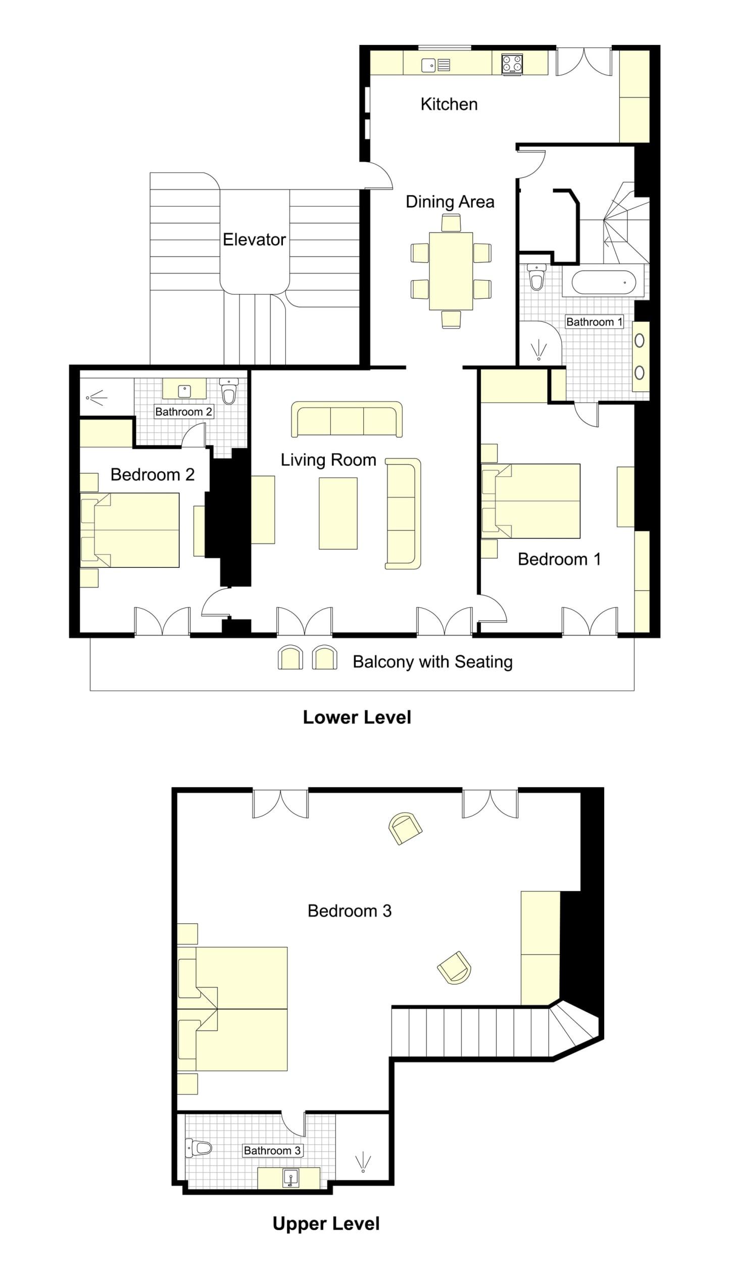 Chevalier Floorplan