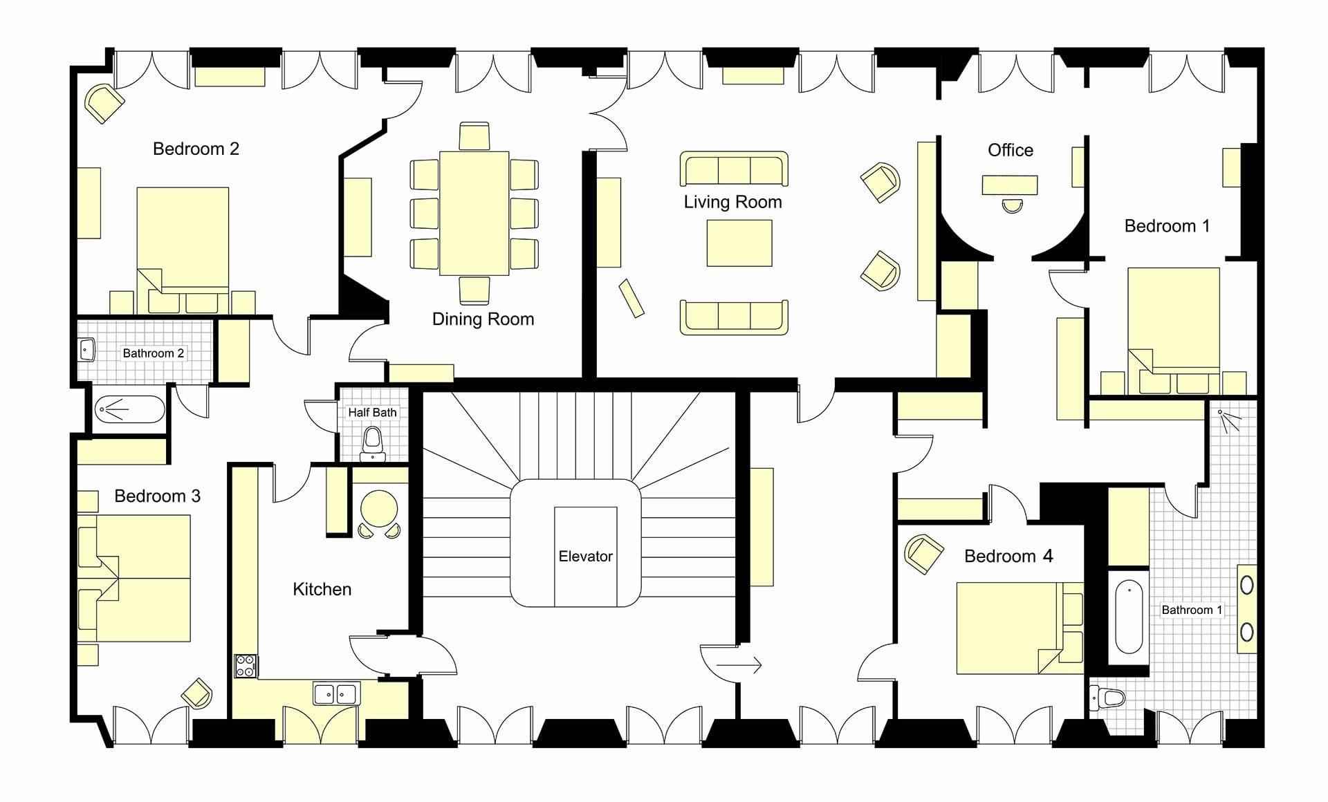 Chopine Floorplan