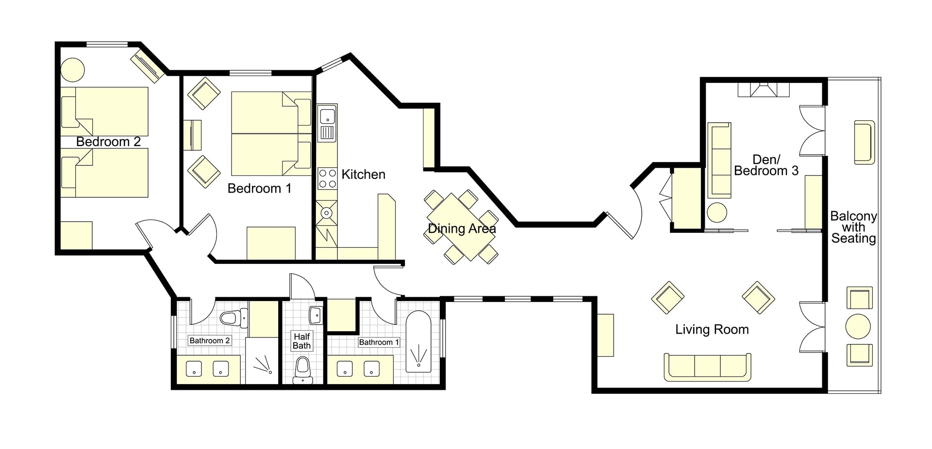 Cognac Floorplan
