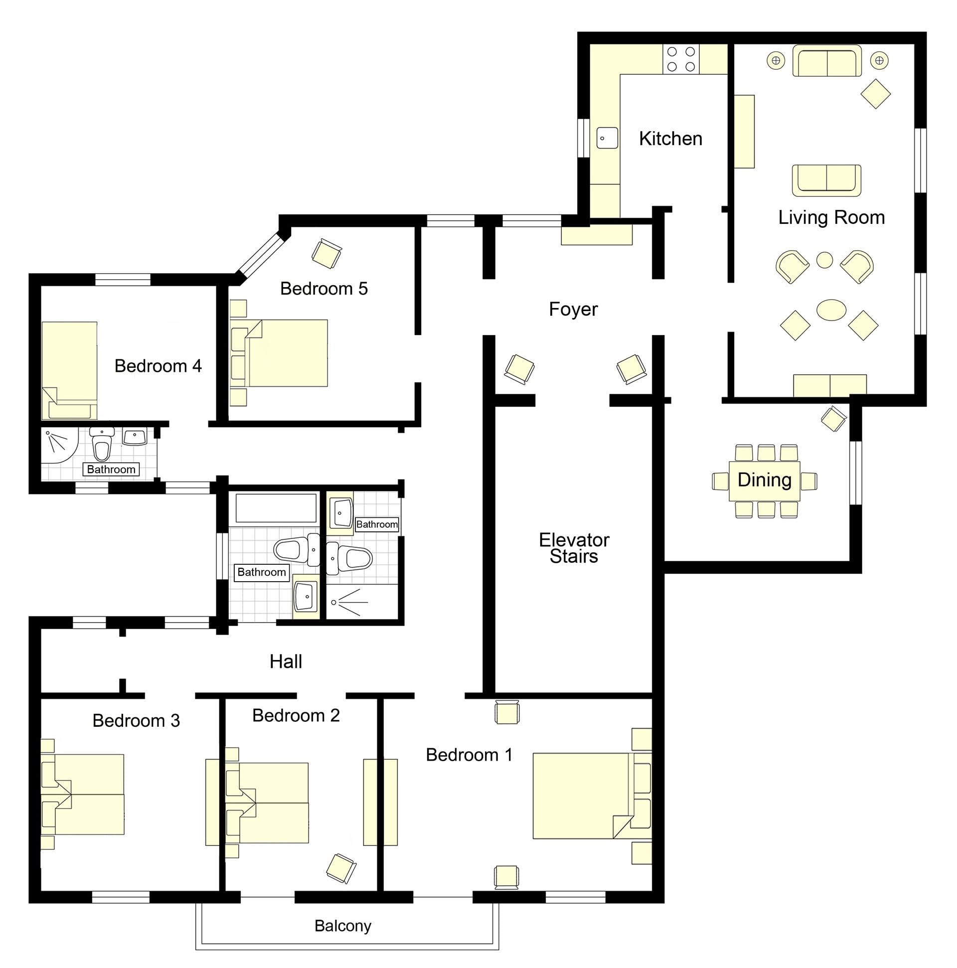 Elegante Floorplan