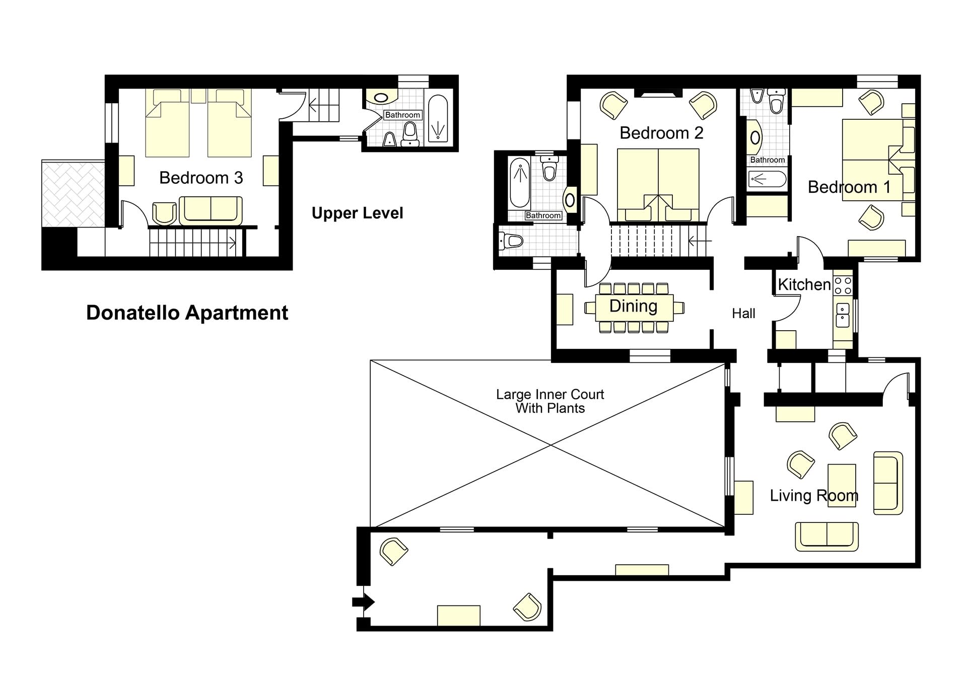 S Croce Donatello Floorplan