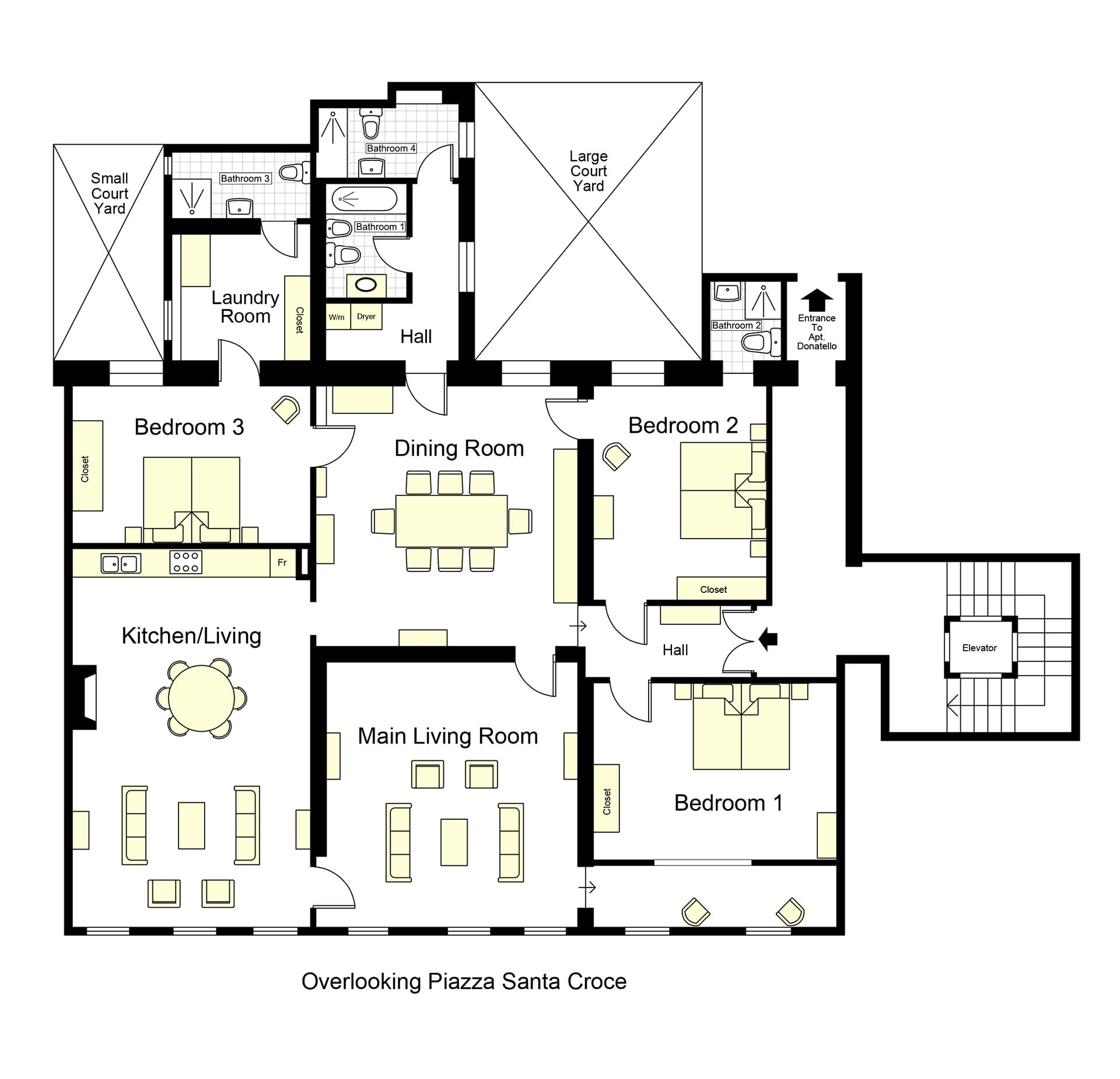 S Croce Medici Floorplan