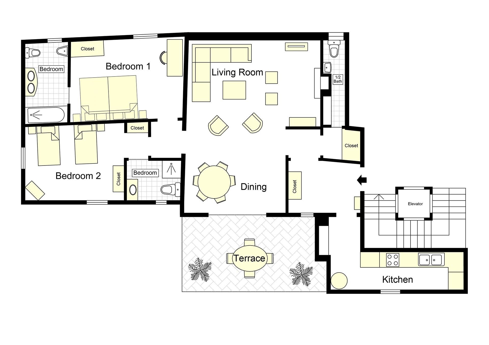 S Croce Miravista Floorplan