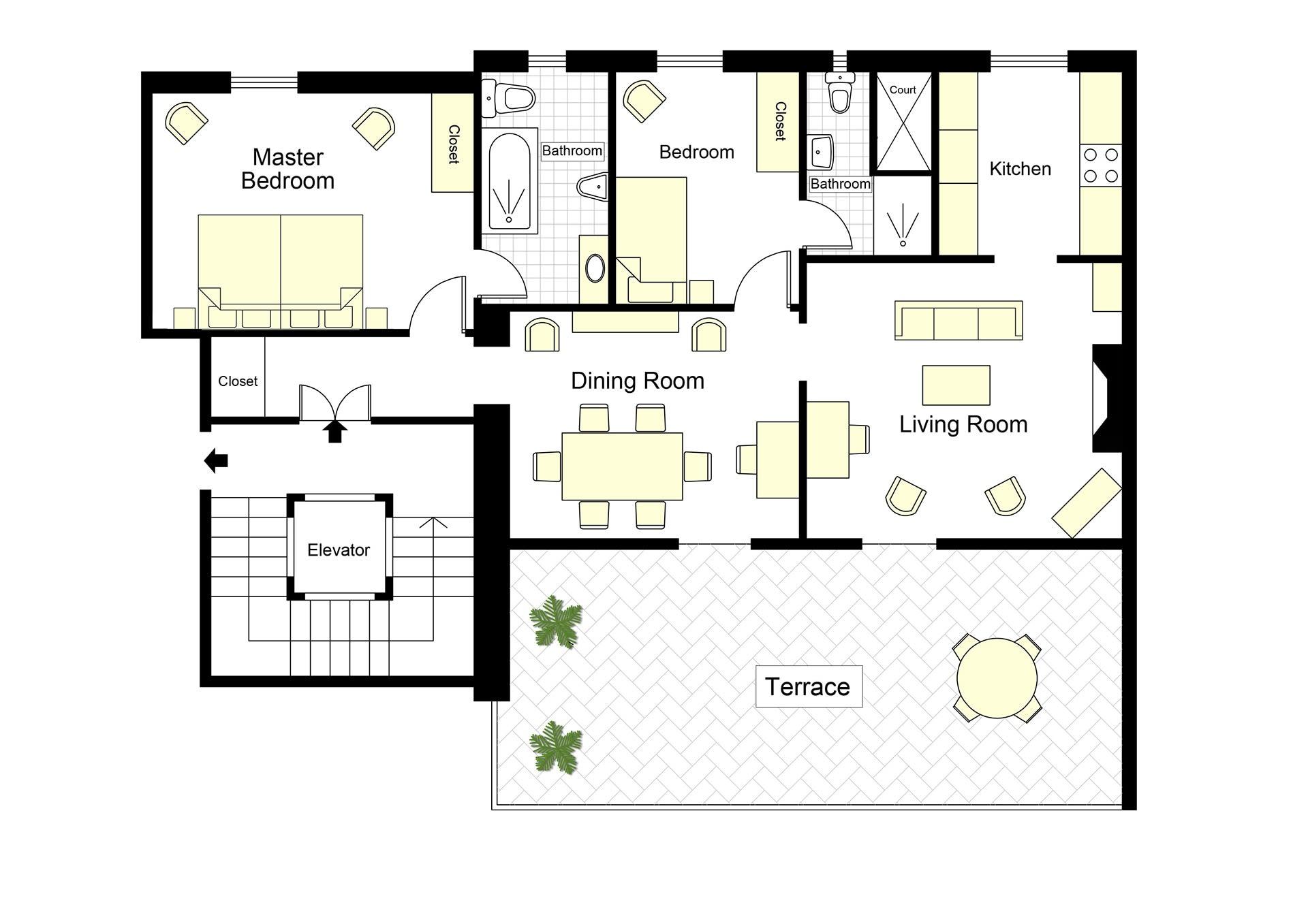 S Croce Mimi Floorplan