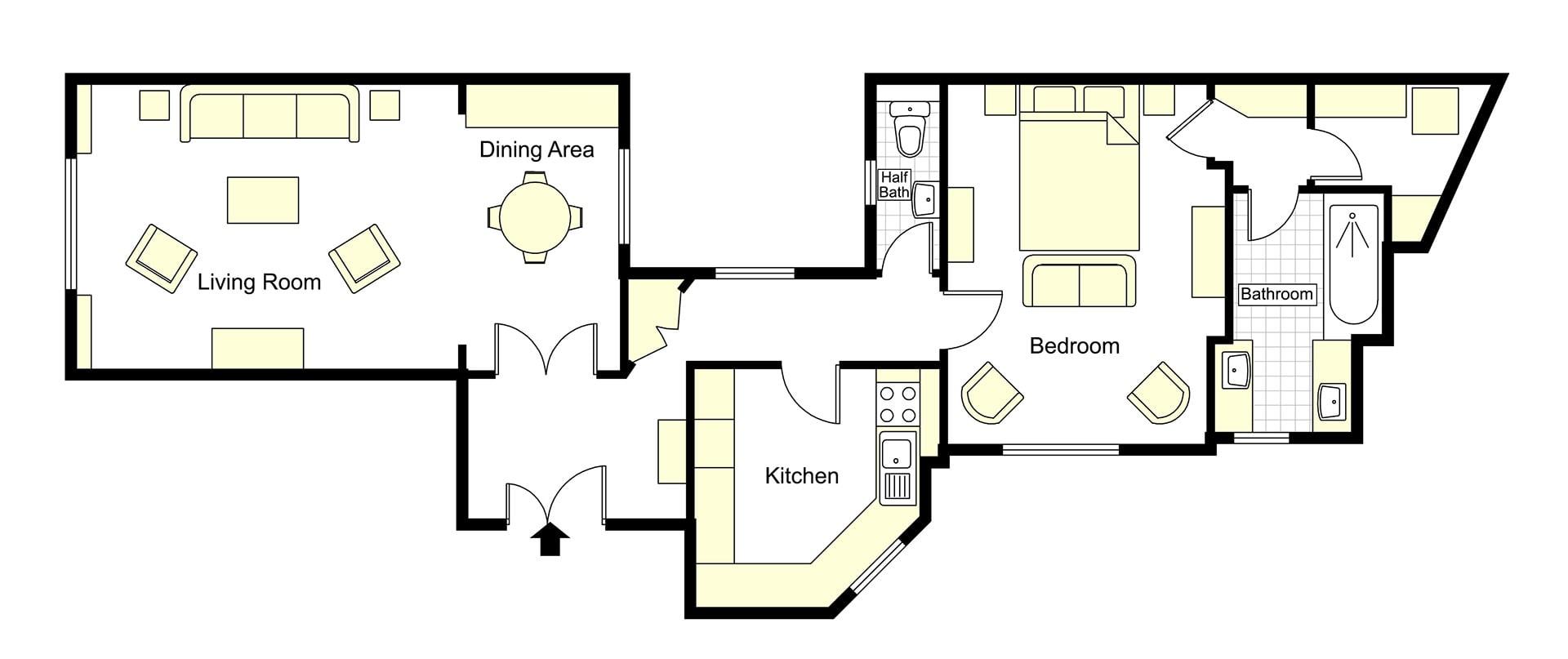 Folle Blanche Floorplan