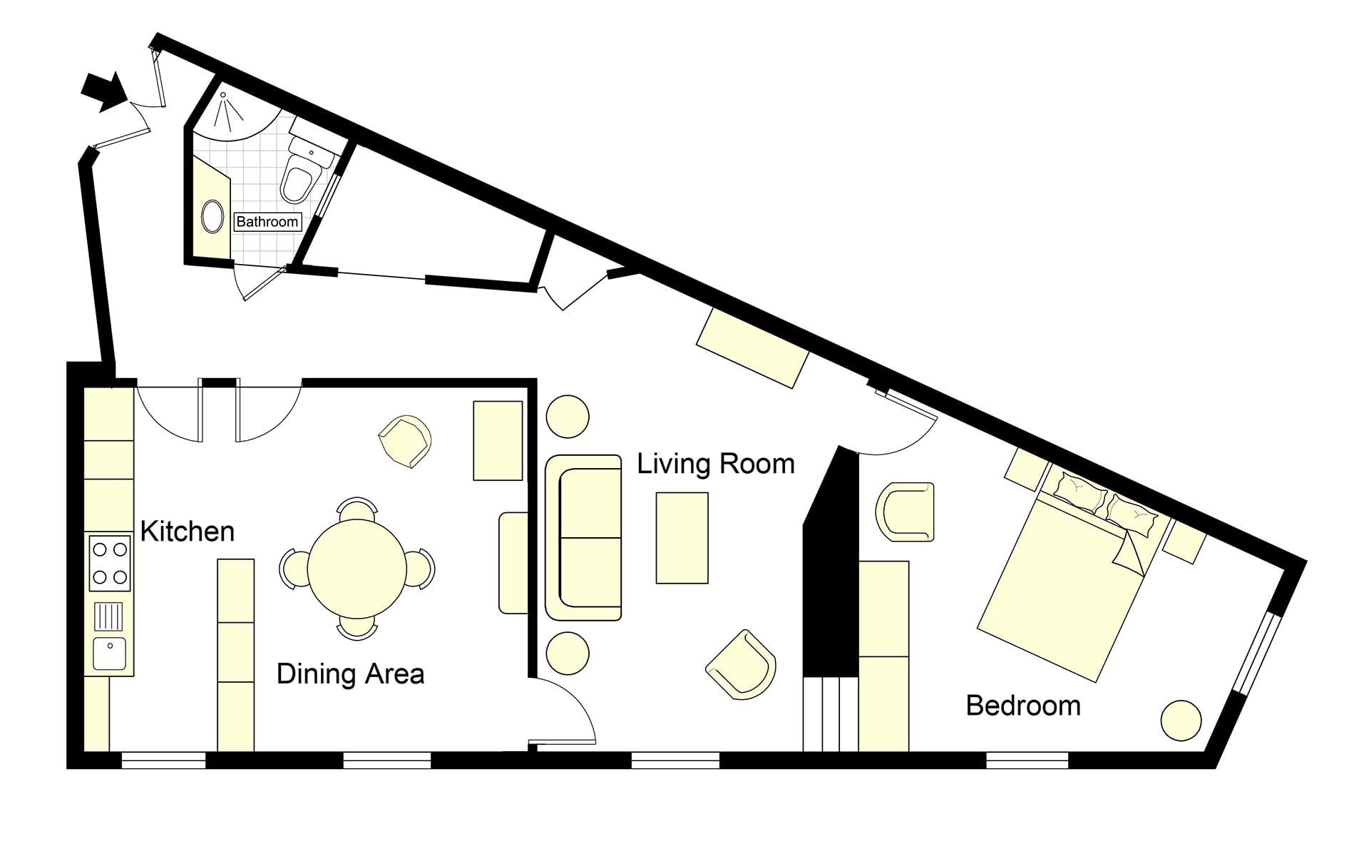 Jasnieres Floorplan