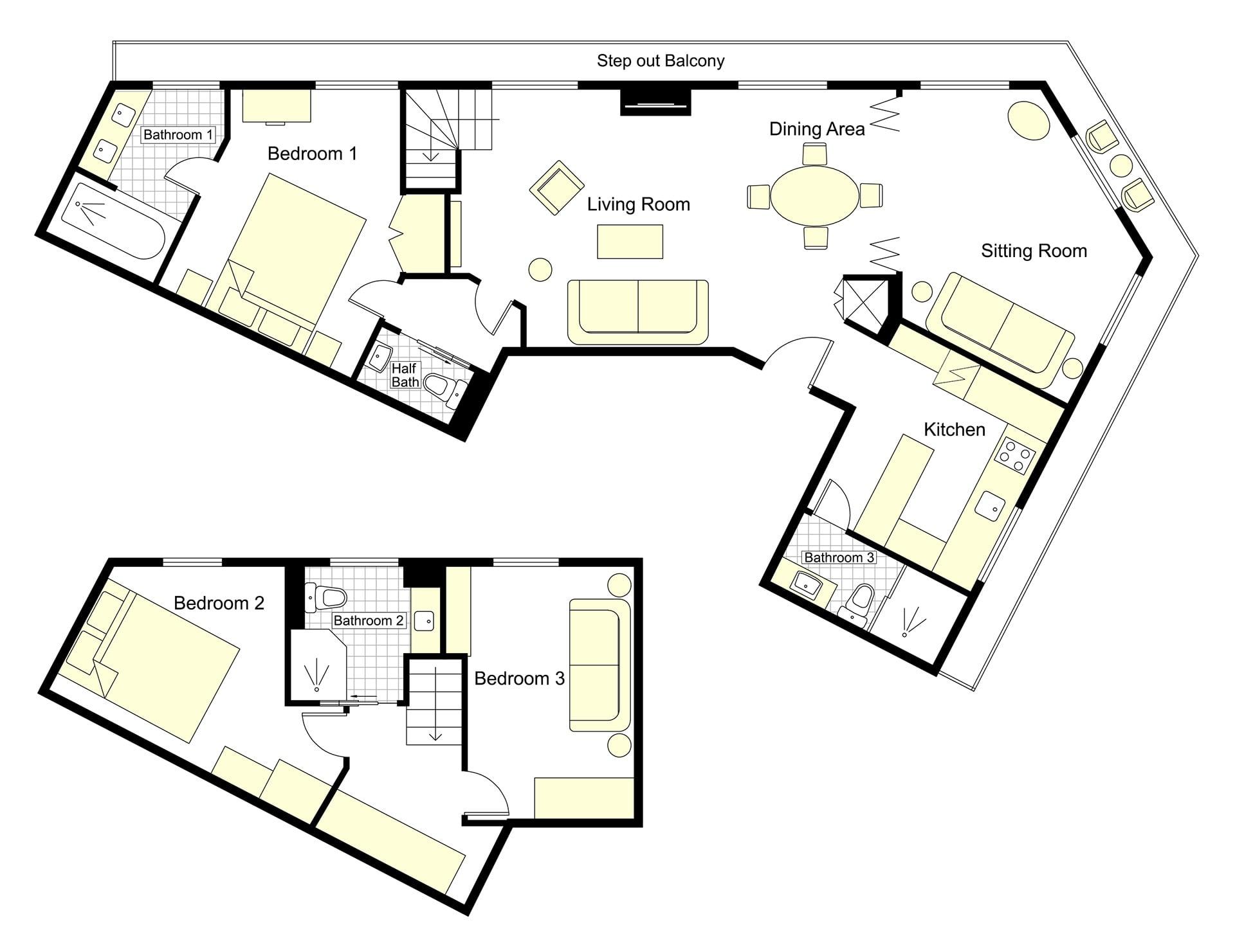 Lalande Floorplan