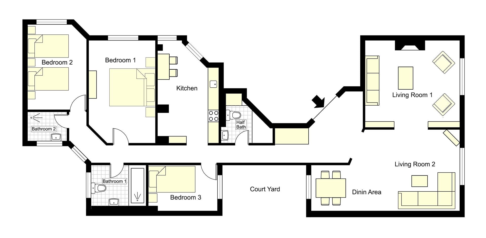 Mâcon Floorplan