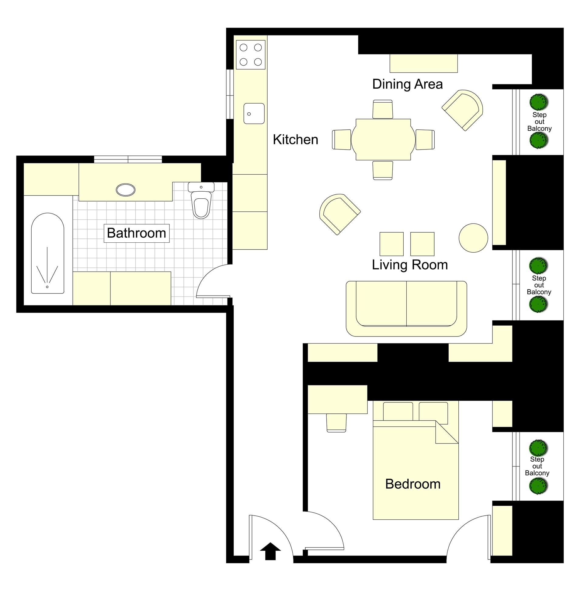 Marcillac Floorplan