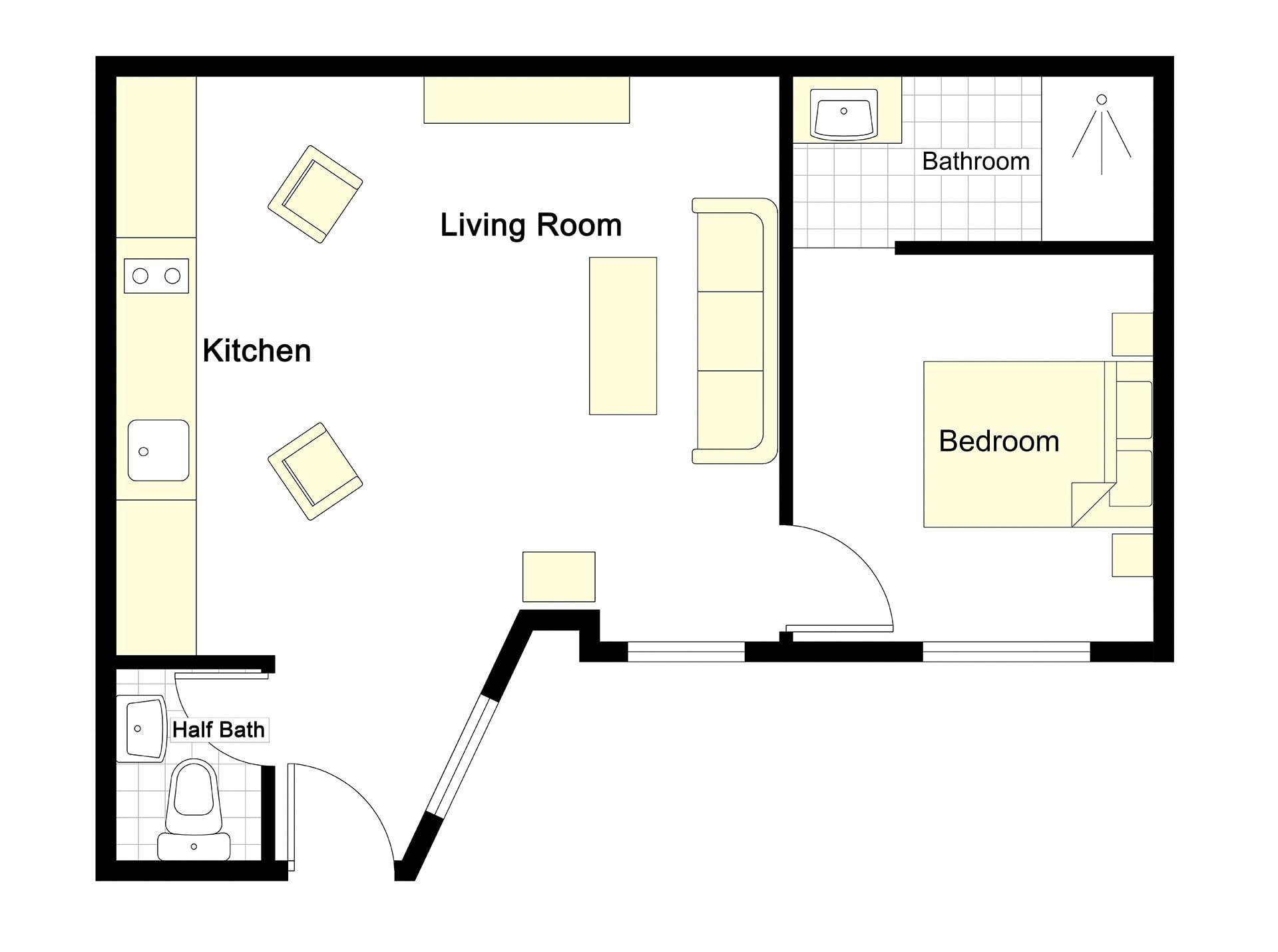 Meunier Floorplan