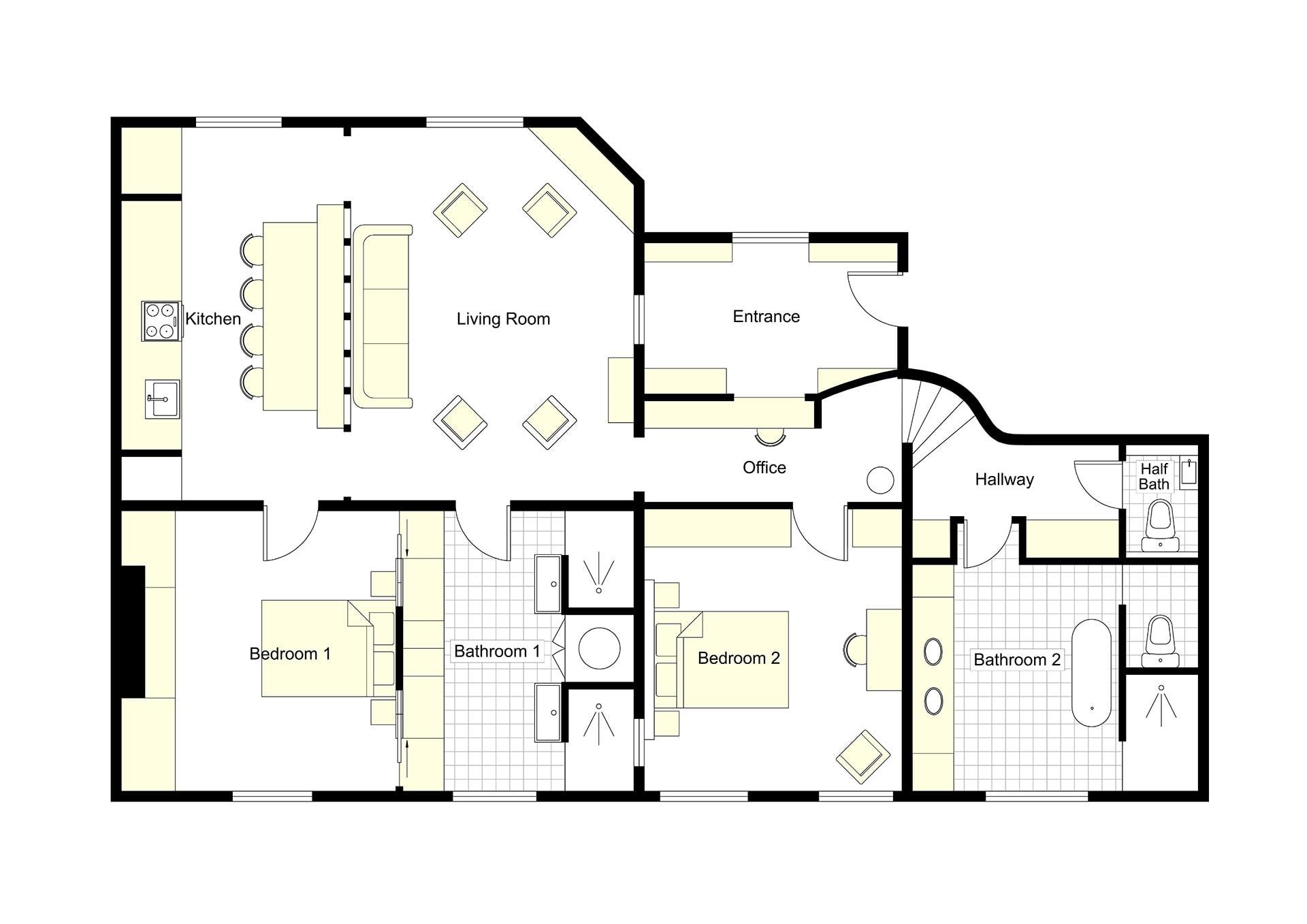 Millau Floorplan