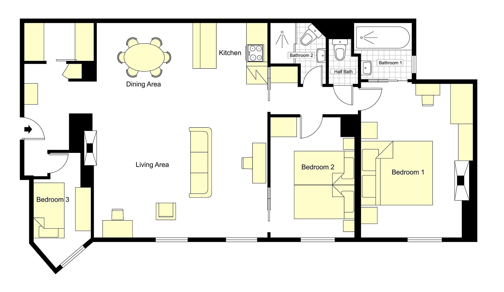 Moulis Floorplan