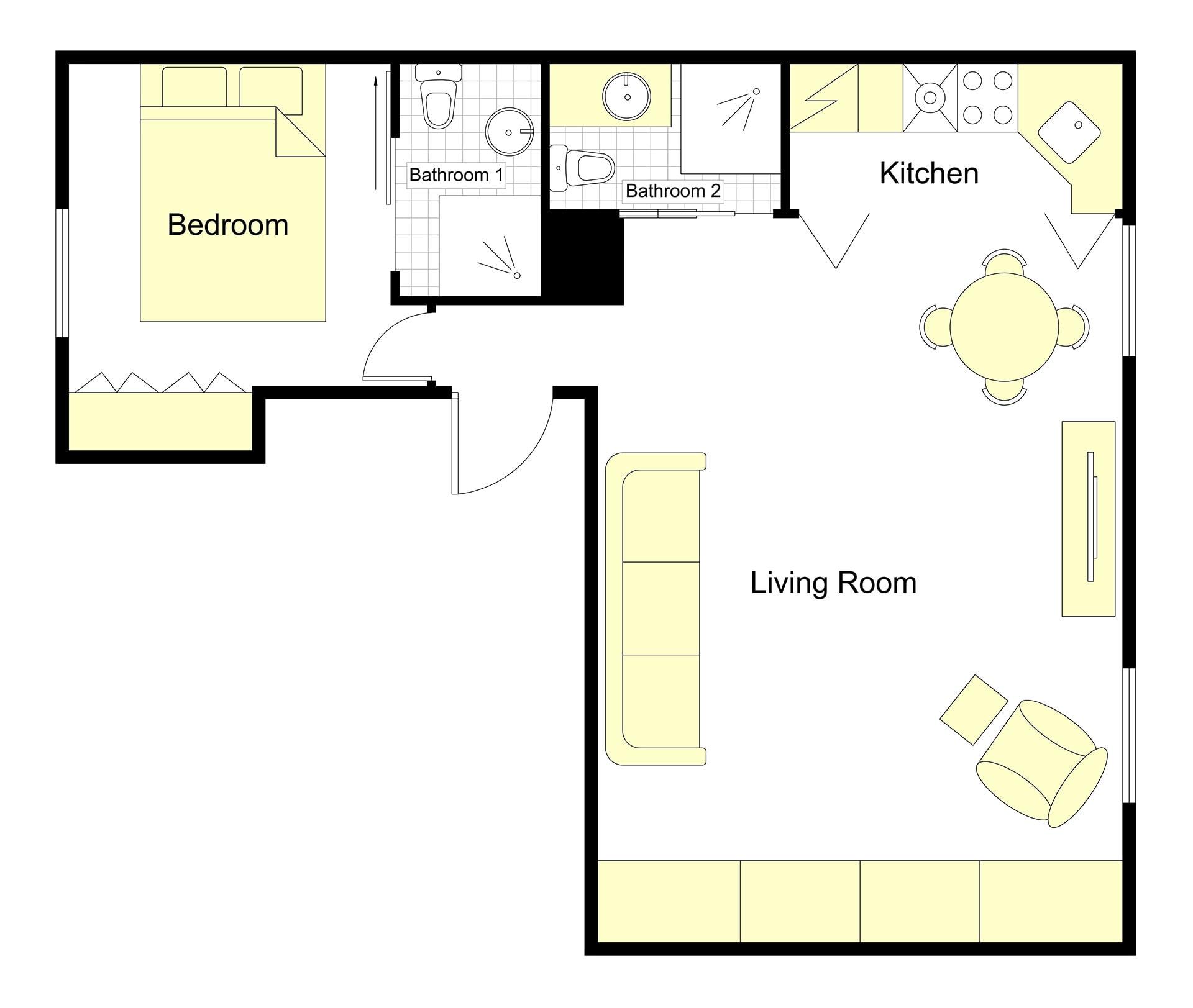 Palette Floorplan