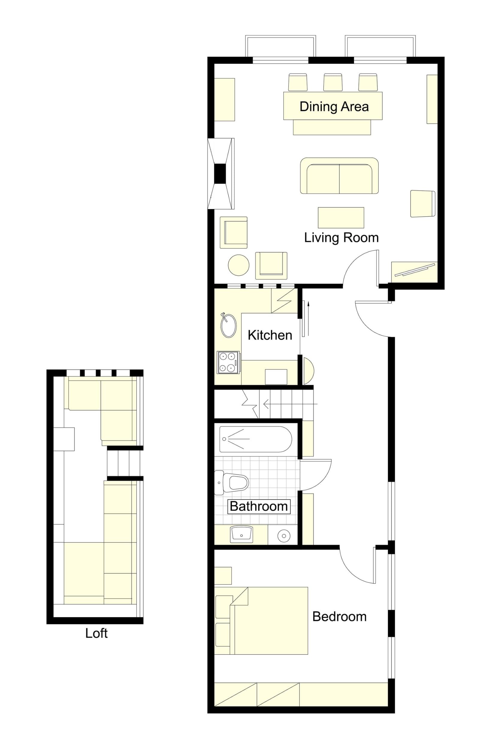 Prosecco Floorplan