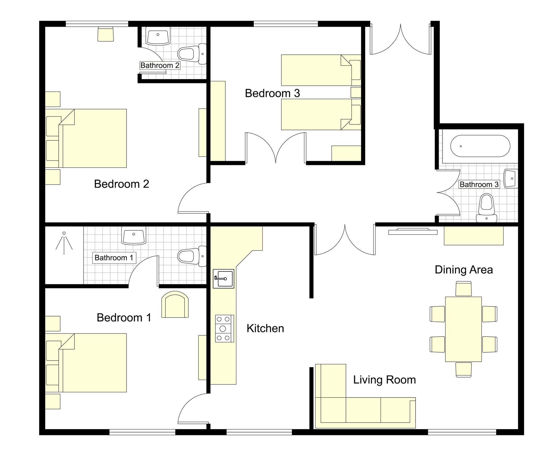 Puccini Floorplan