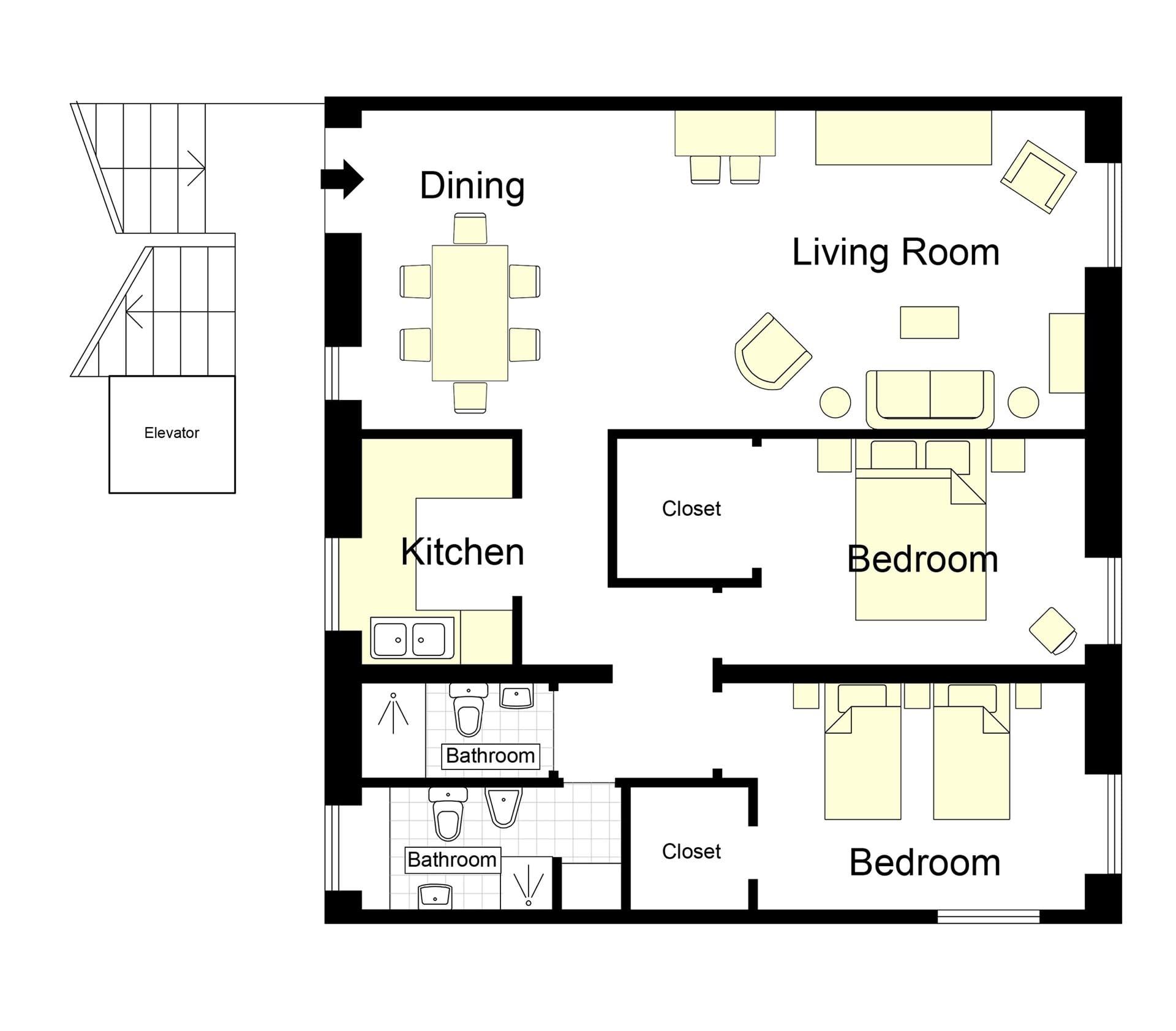 Romulus Floorplan