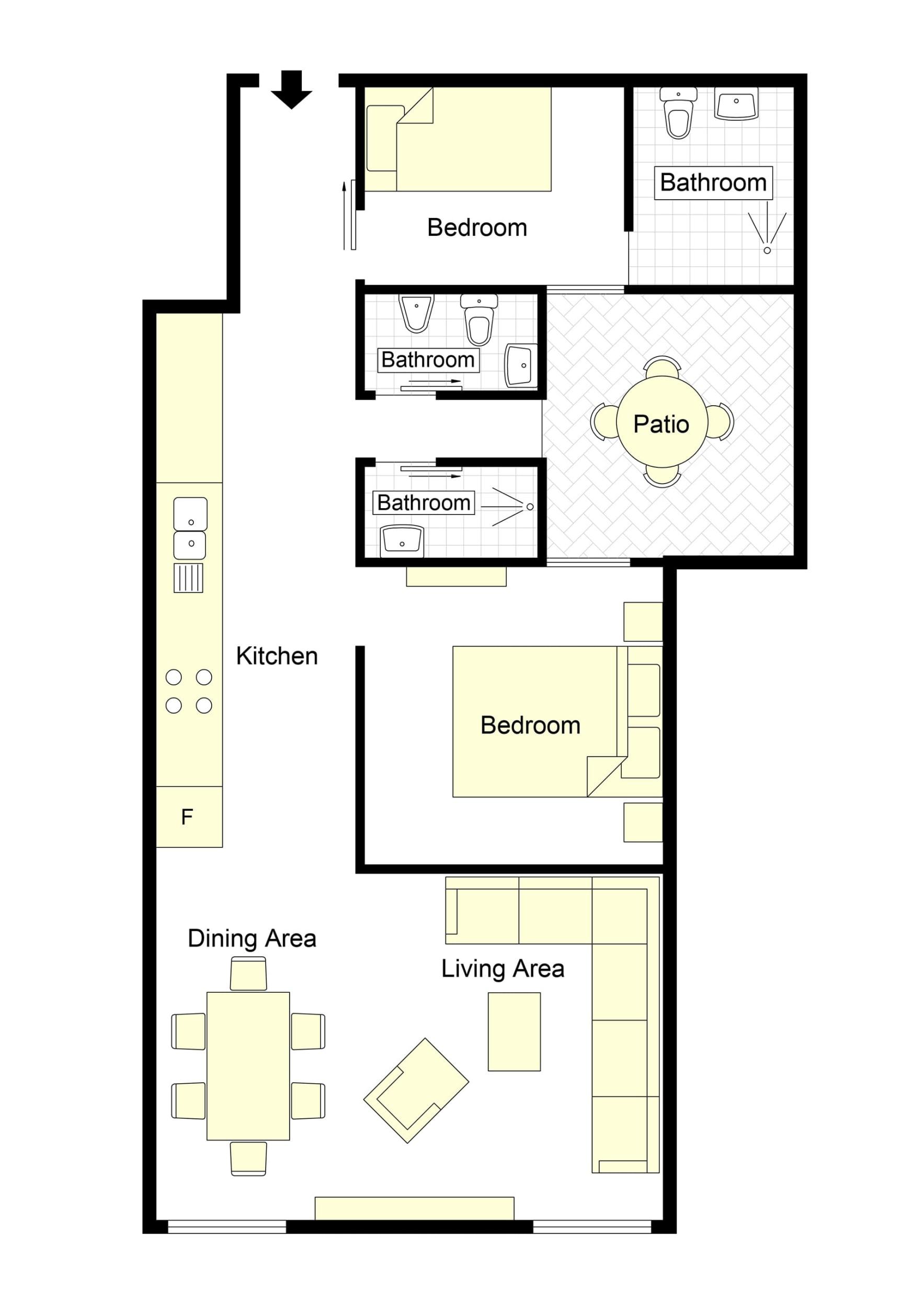 Sabini Sistina Floorplan