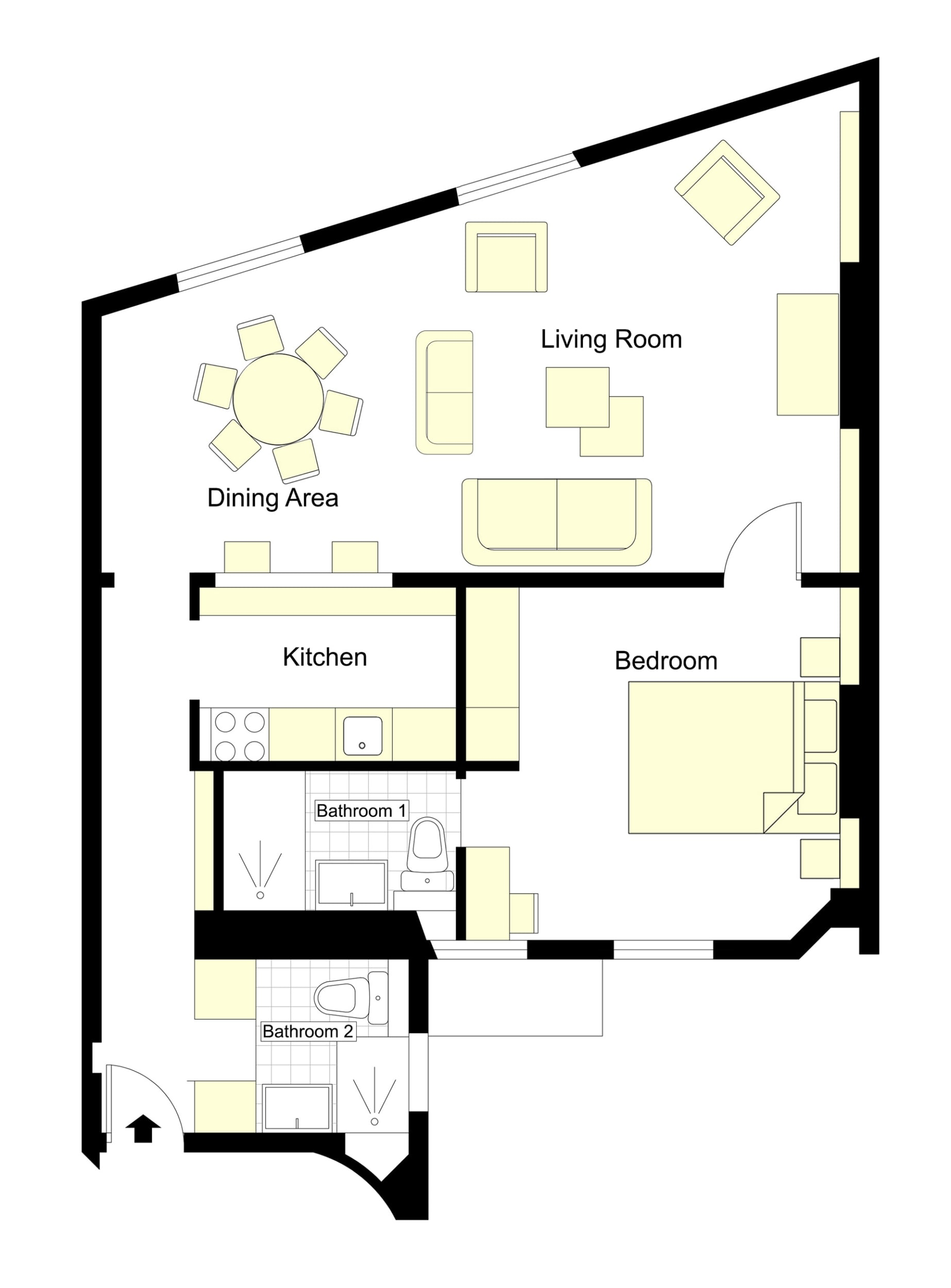 Saint-Bris Floorplan