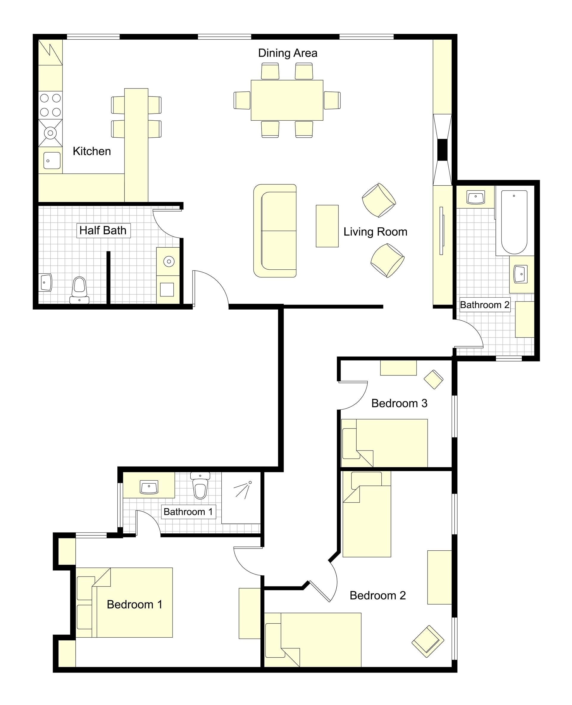Saint Chinian Floorplan