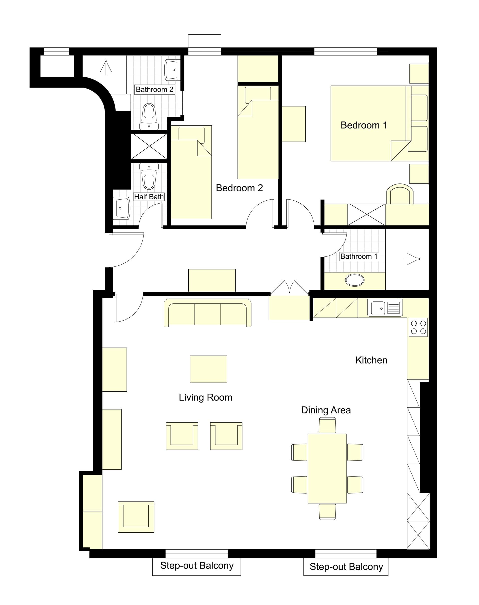 Saint Emilion Floorplan