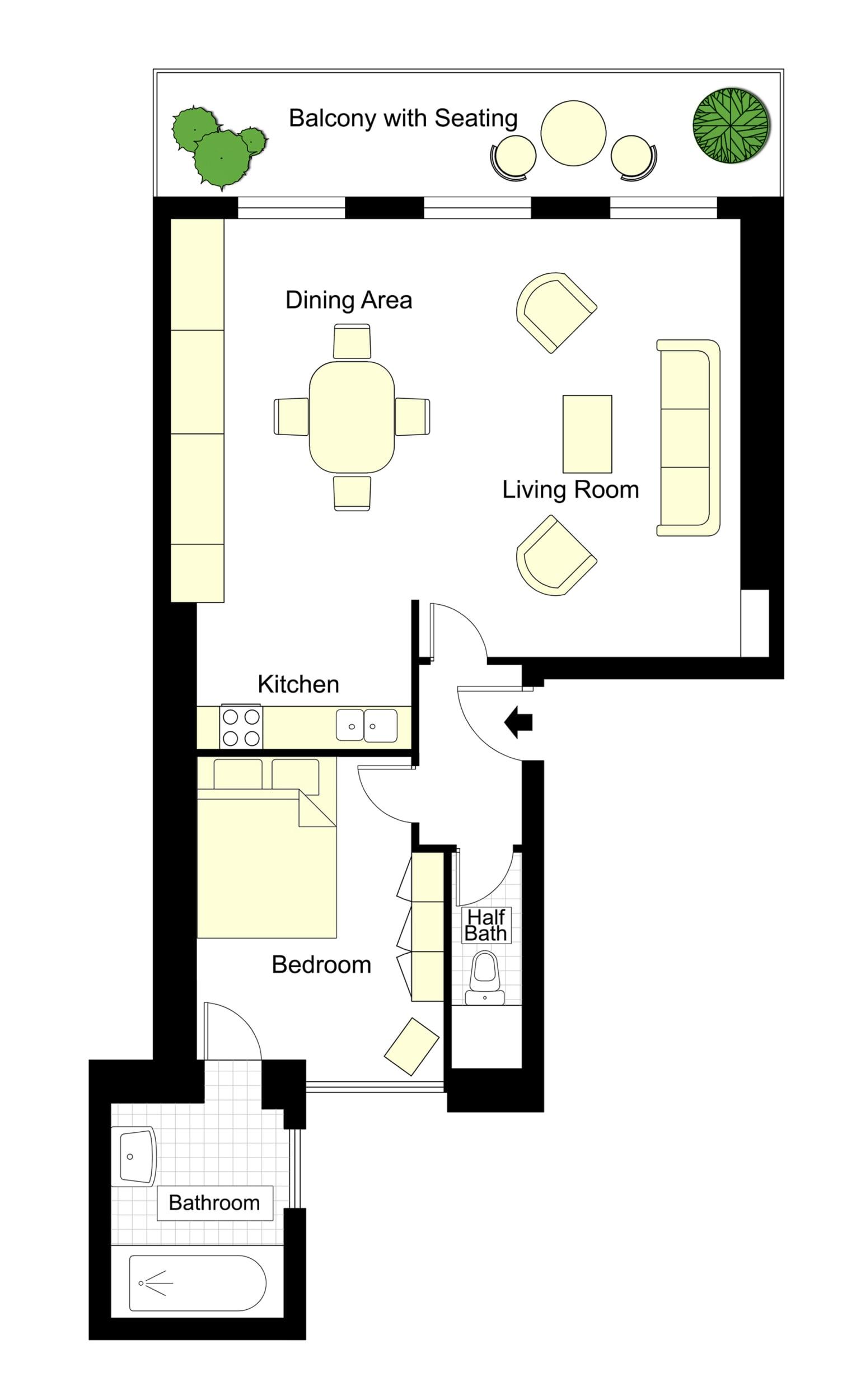 Saint Romain Floorplan
