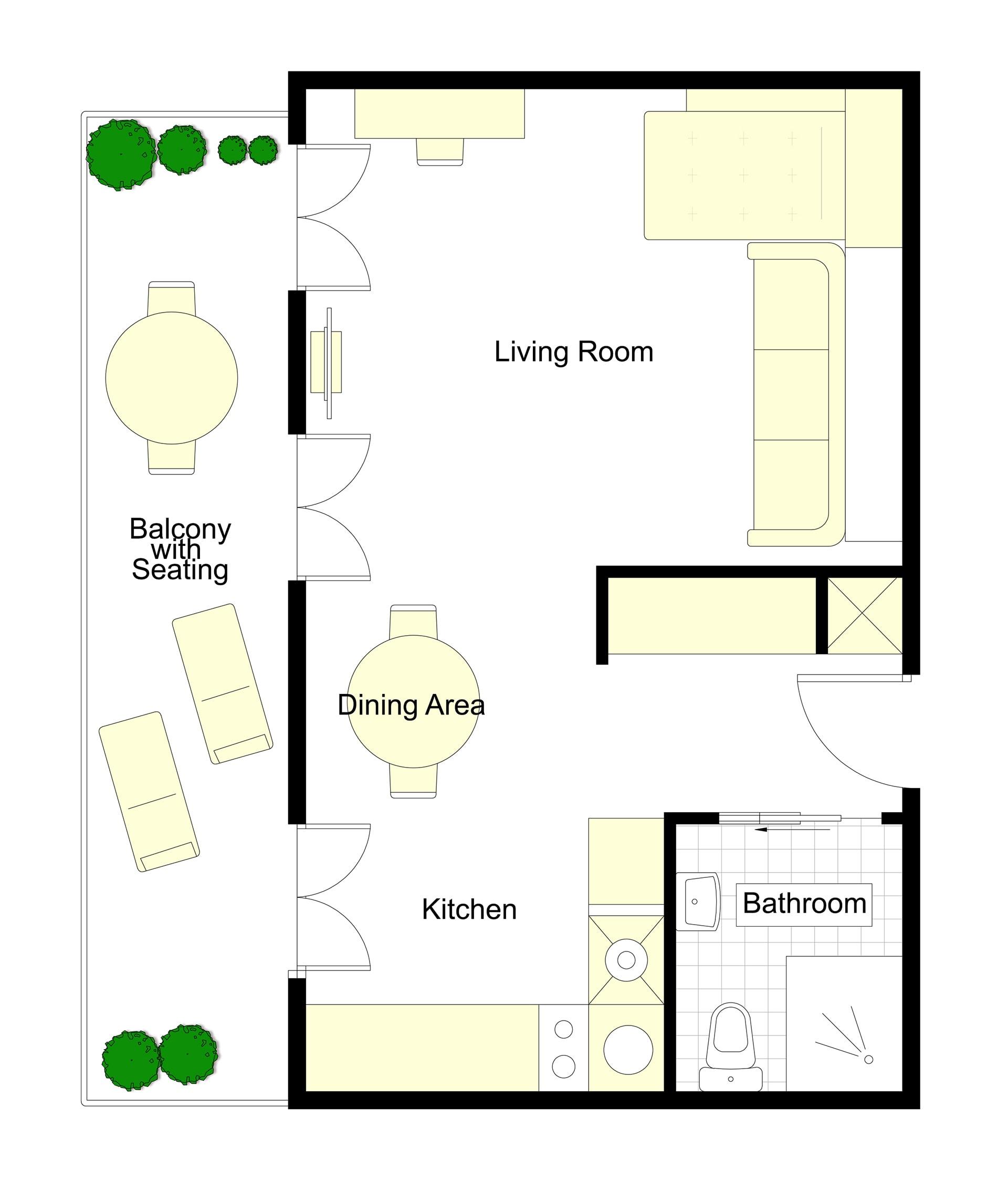 Saumur Floorplan