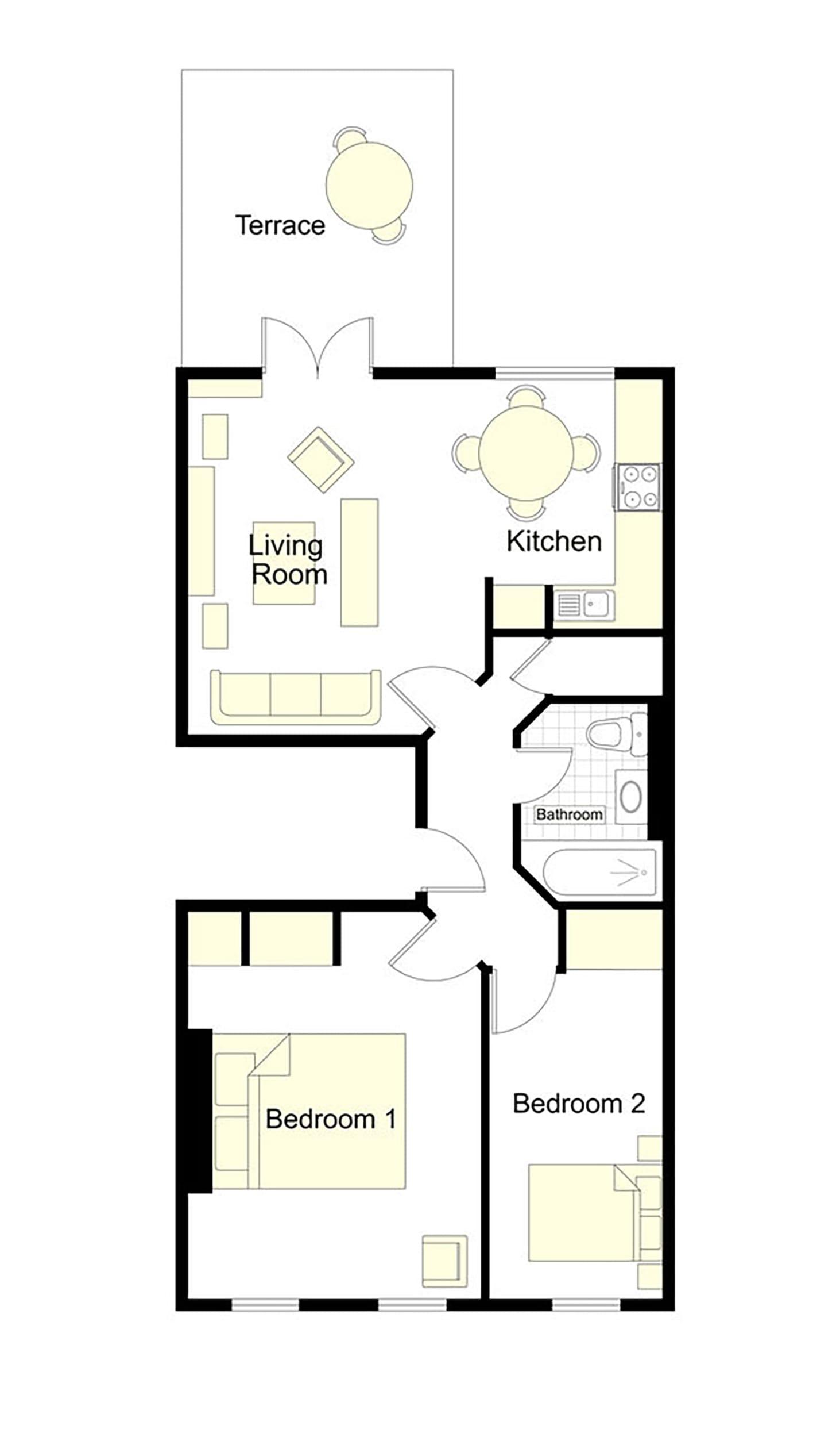 Templeton Floorplan