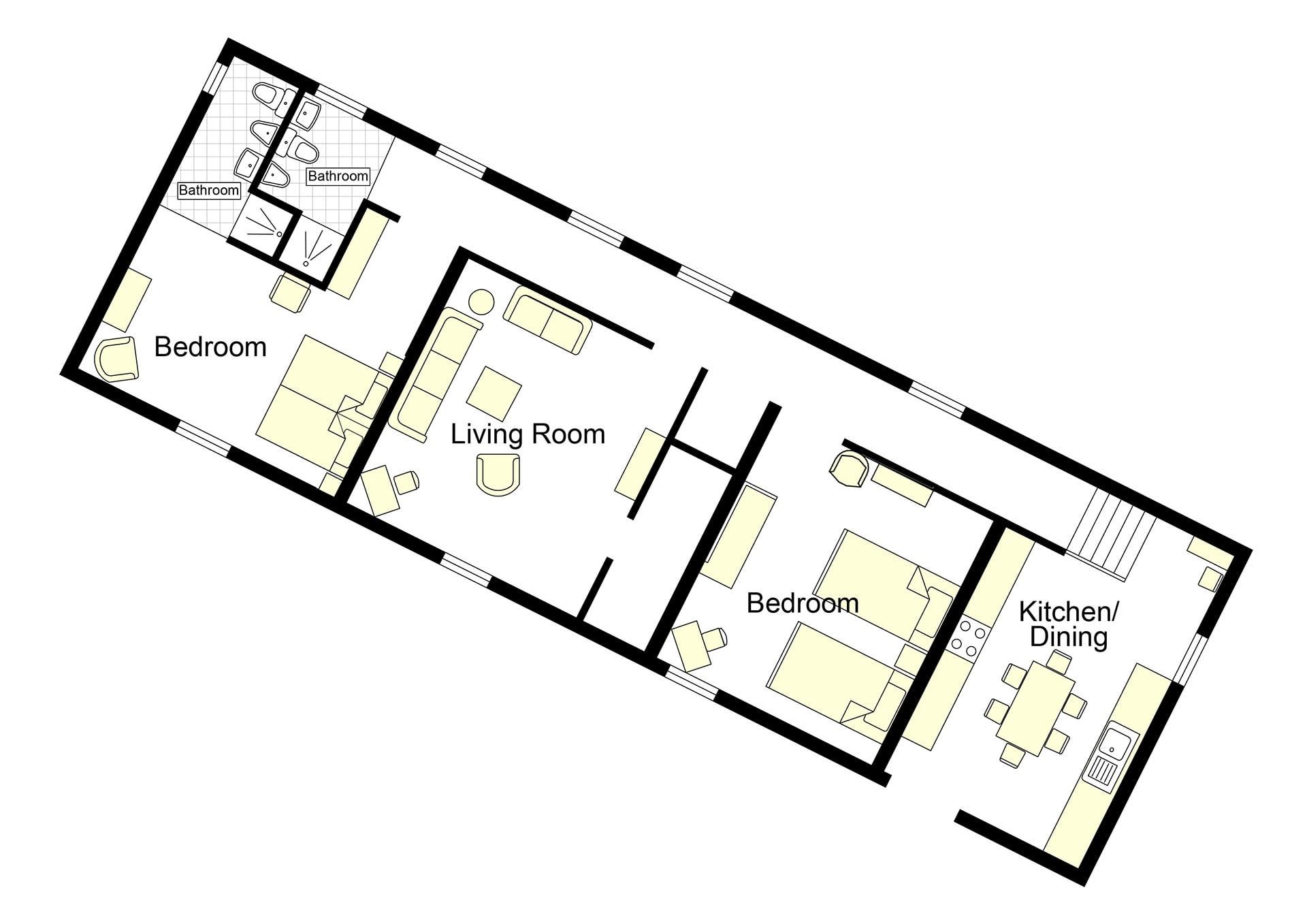 Borgo Vespa Floorplan