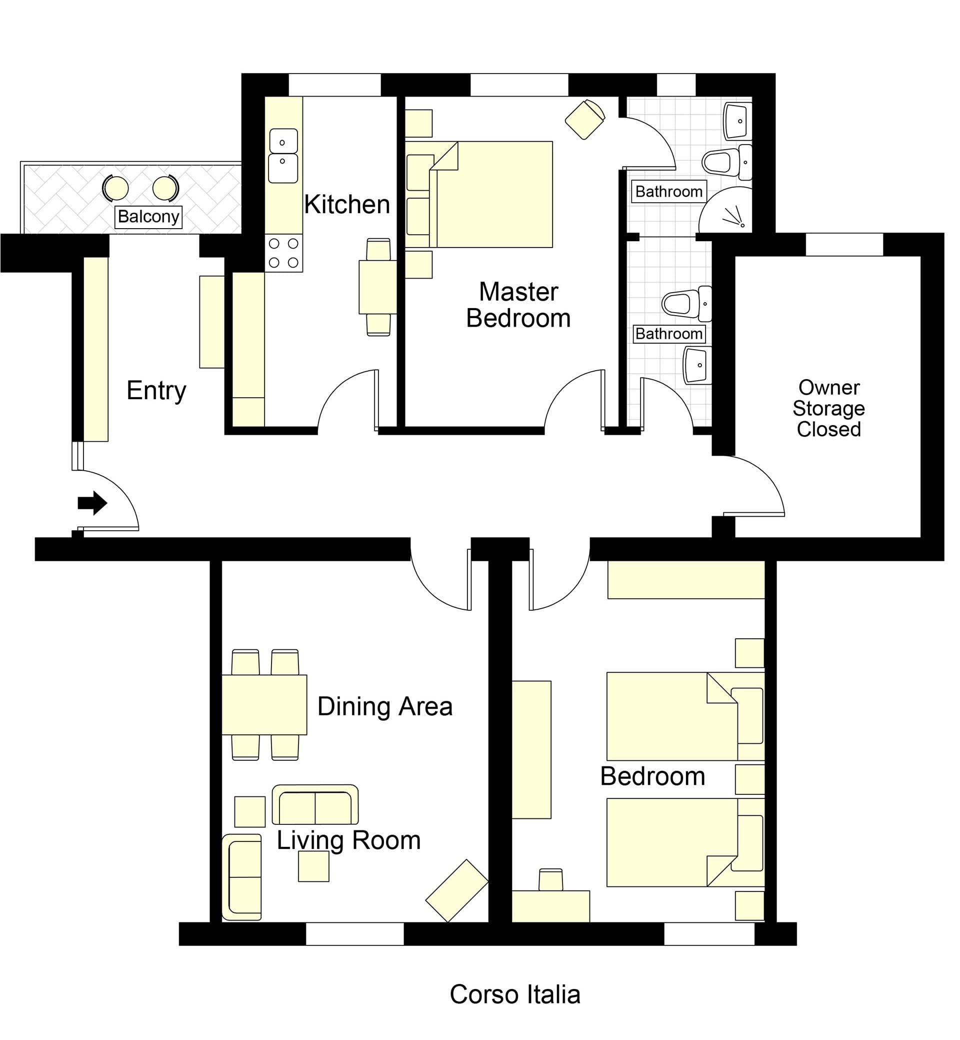 Vespucci Floorplan