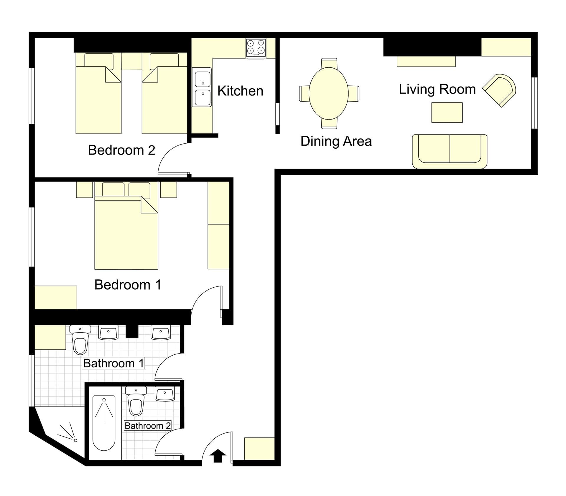 Vougeot Floorplan