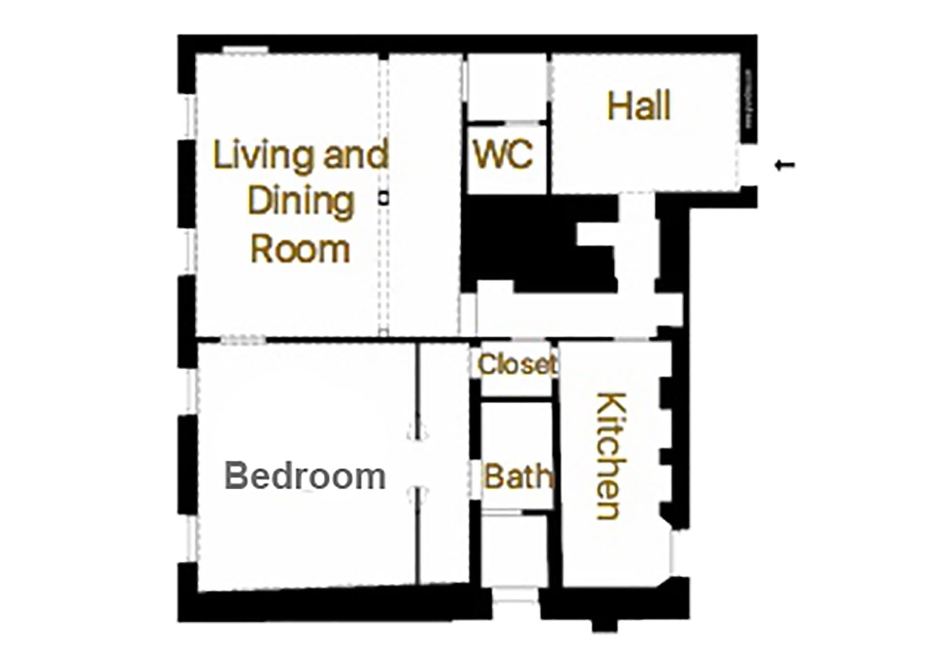 Zenzero Floorplan